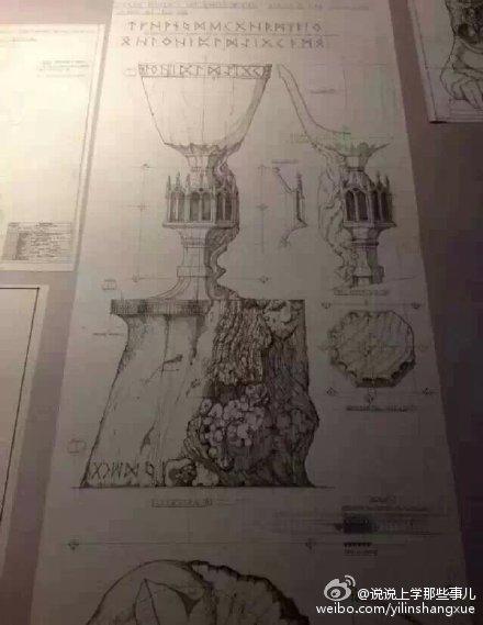 服了!超精美的哈利波特手绘稿